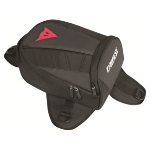 Dainese D-Tanker Motorcycle Mini Tank Bag (Color: Stealth Black) 1041974
