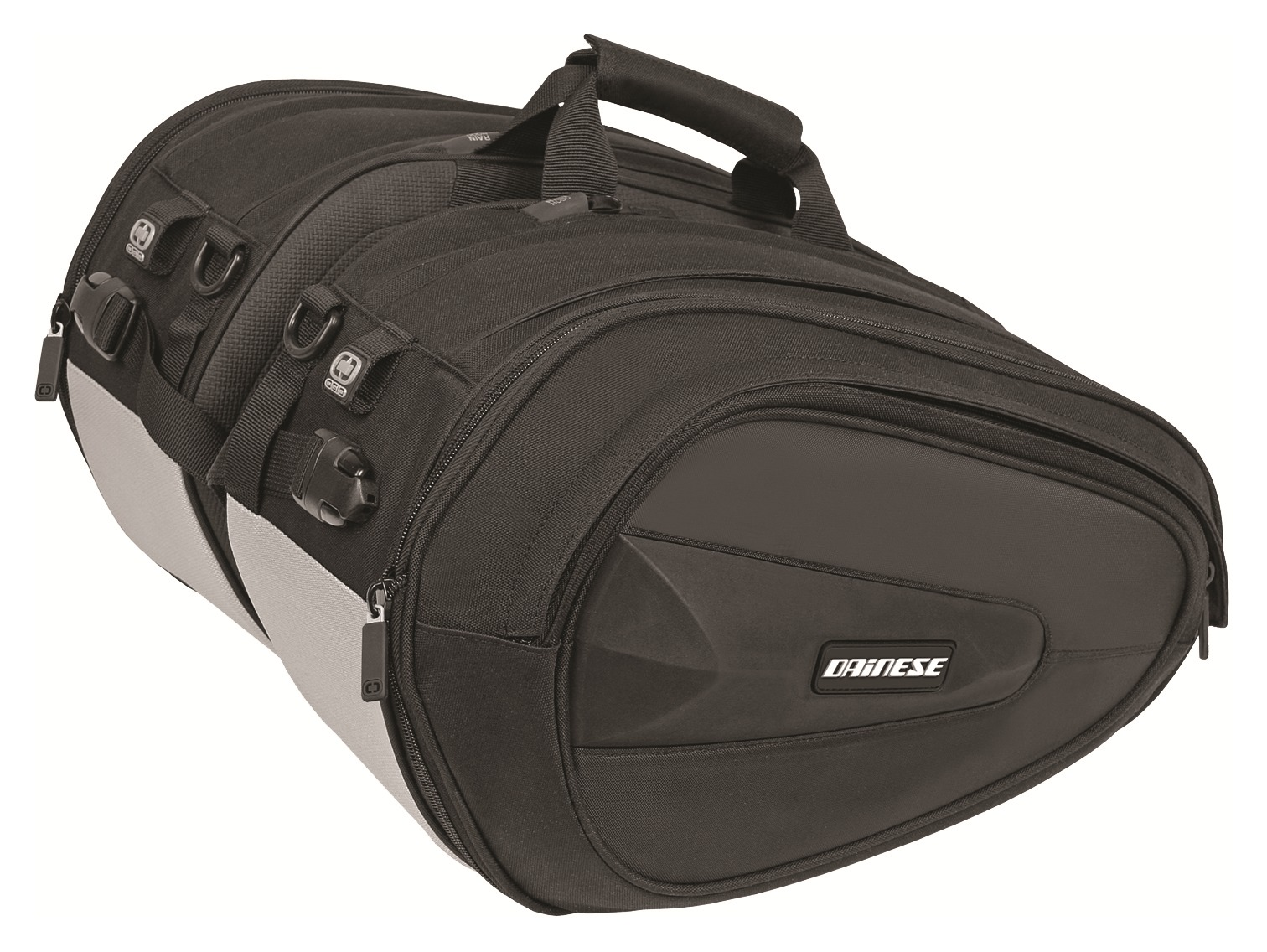 Dainese d saddle motorcycle saddlebags cycle gear for Motor cycle saddle bags