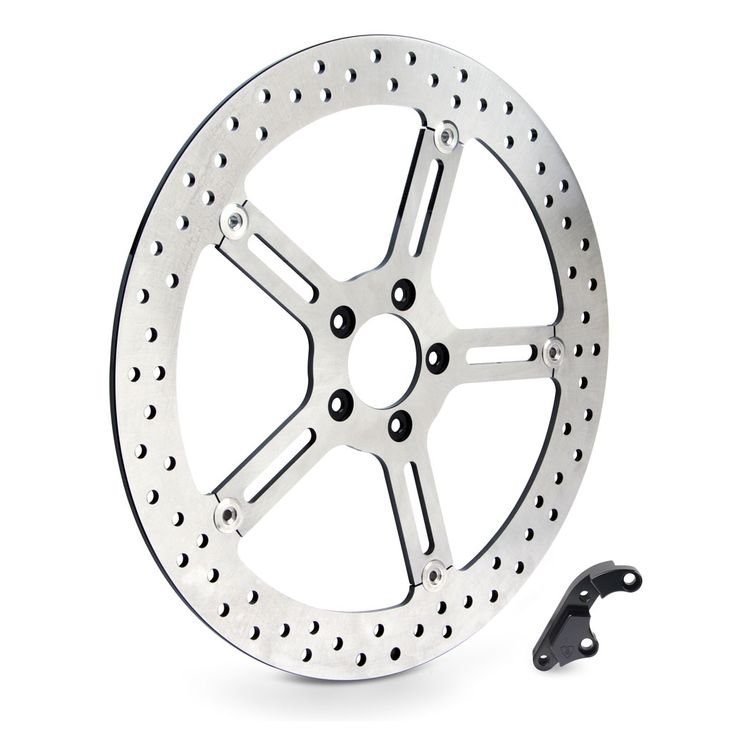 "Arlen Ness 15"" Big Brake Front Rotor For Harley Dyna / Softail 2000-2014"