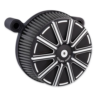 Arlen Ness 10-Gauge Stage 1 Big Sucker Air Cleaner Kit For Harley 2008-2017 (Finish: Black) 1206118