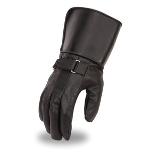 First Manufacturing Lined Gauntlet Gloves (Color: Black / Size: MD) 1205374