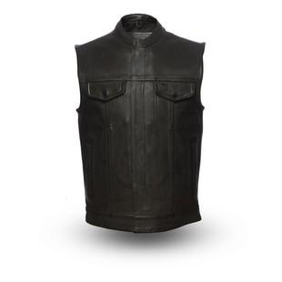 First Manufacturing Hotshot Vest (Color: Black / Size: 2XL) 1205499