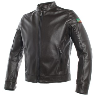 Dainese AGV 1947 Jacket (Color: Dark Brown / Size: 64) 1209272