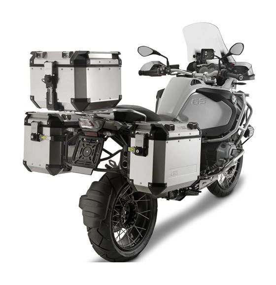 Pro Taper Handlebars >> Givi Trekker Outback Case And Luggage Rack Kit - Cycle Gear