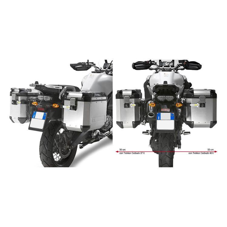 Givi Trekker Outback Case And Luggage Rack Kit Yamaha Super Tenere 2010-2018