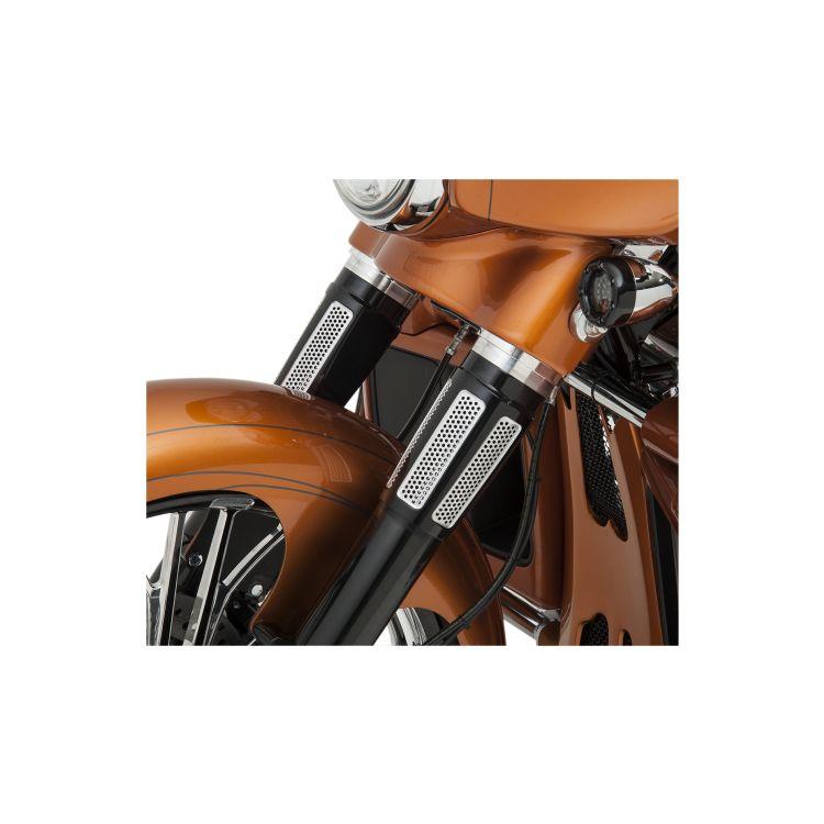 Paul Yaffe Speedfreak Fork Slider Covers For Harley Touring 1986-2013