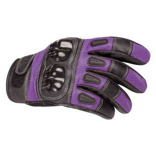 Bilt Sprint Women's Gloves (Color: Purple/Black / Size: SM) 1211637