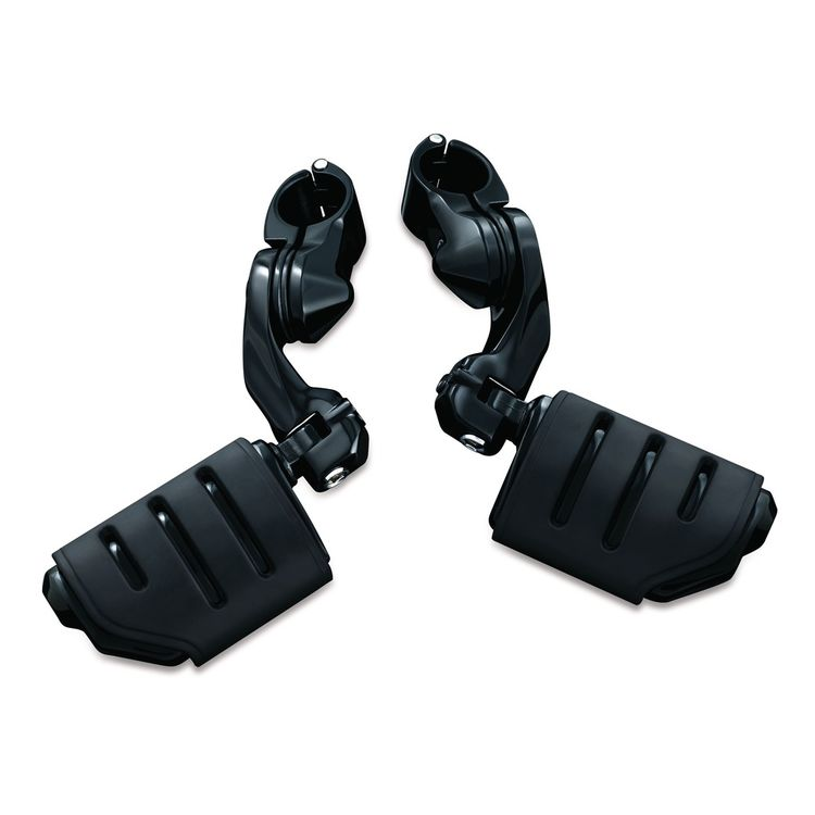 Black w/ Trident Dually Pegs