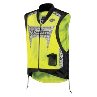 Icon Interceptor Reflective Vest - (Sz SM-MD Only) (Color: Yellow / Size: SM-MD) 722502