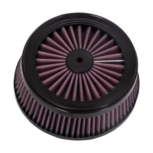Vance & Hines Replacement Filter For Rogue / Cage Fighter Air Cleaner (Color: Red) 1212081