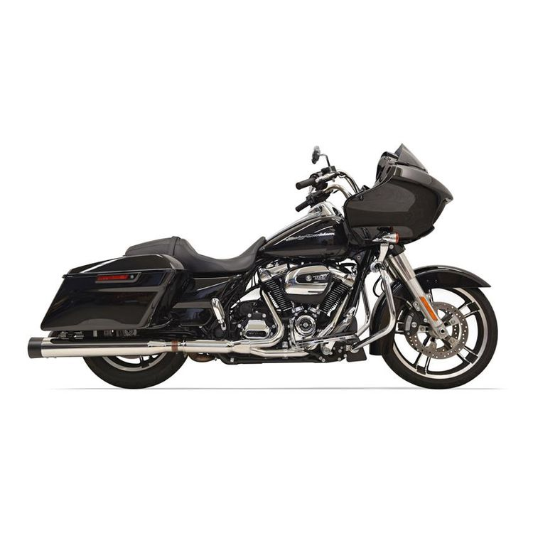 Bassani 2x2 Dual Head Pipes For Harley Touring 2017-2020