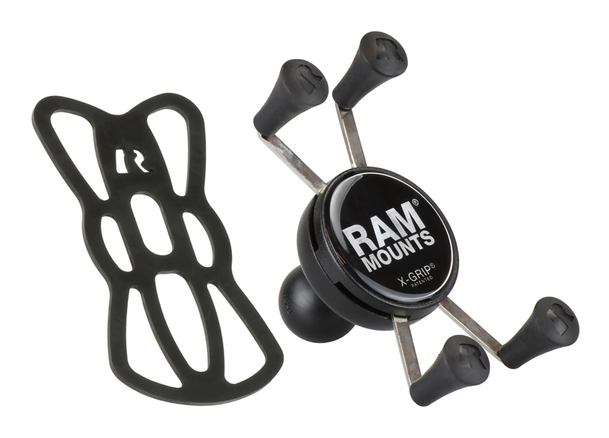 ram mounts universal x grip cell iphone cradle cycle gear. Black Bedroom Furniture Sets. Home Design Ideas