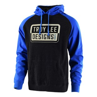 Troy Lee Keep Steppin Hoody (Color: Charcoal/Blue / Size: XL) 1216058