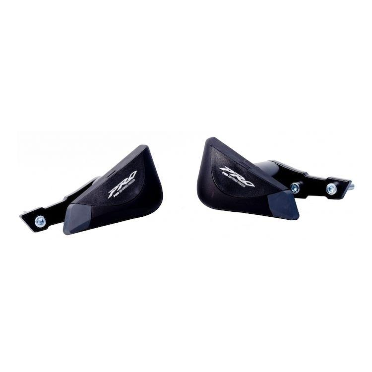 Puig R12 Frame Sliders for 16-18 Honda CBR500R No Modification Needed Black
