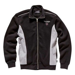 Triumph Team Zip Jacket (Color: Black/Grey / Size: XL) 1218463