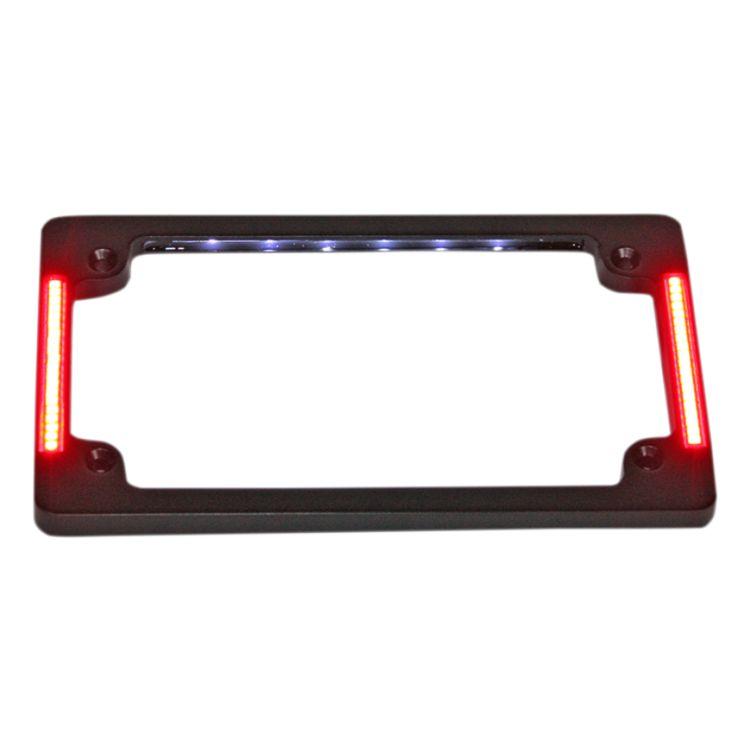 Custom Dynamics LED All-In-One Tri-Horizontal License Plate Frame