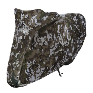 Oxford Aquatex Camo Motorcycle Cover (Color: Camo / Size: Scooter) 1219980