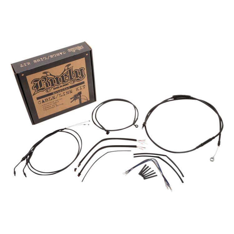 Burly Handlebar Cable Installation Kit For Harley Sportster 2014-2021