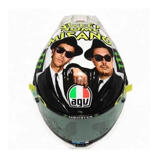 AGV Pista GP R Carbon Misano 2016 Helmet (Color: White/Black / Size: XS) 1221966