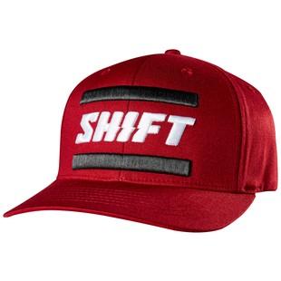 Shift 3lack Label Flexfit Hat (Color: Red / Size: LG-XL) 1222655