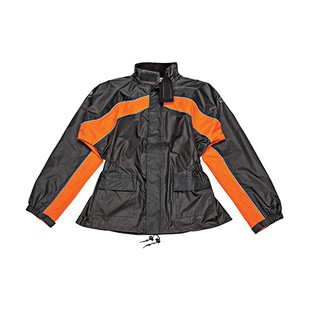 Joe Rocket RS-2 Two-Piece Rainsuit (Color: Black/Orange / Size: XL) 1223514