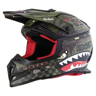 O'Neal 5 Series Warhawk Helmet (Color: Black/Green / Size: MD) 1223627