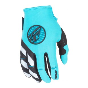 Fly Racing Kinetic Women's Gloves (Color: Teal / Size: 2XL) 1224227