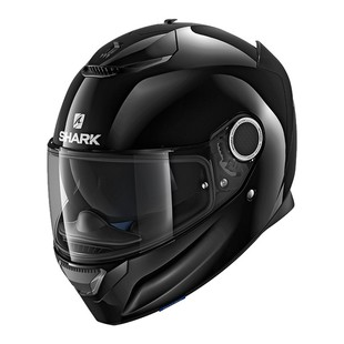 Shark Spartan Helmet (Color: Glossy Black / Size: XS) 1224621