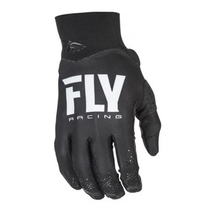 Fly Racing Pro Lite Gloves (Color: Black / Size: 7) 1224867