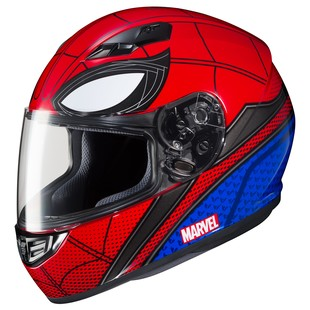 HJC CS-R3 Spiderman Helmet (Color: Red/Blue / Size: LG) 1225255