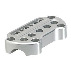 "Joker Machine Chrome 900 Series Handlebar Riser//Top Clamp Kit for 1/"" Bar Harley"