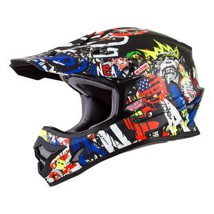 O'Neal 3 Series Rancid Helmet (Color: Black/Red/Blue / Size: 2XL) 1223567