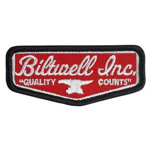 Biltwell LP-ZIN-DC-QC Chrome//Red Quality Counts License Plate Frame