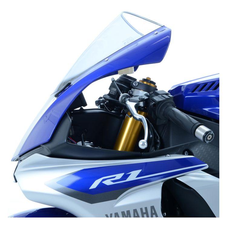 R&G Racing Mirror Blanking Plates Yamaha R1 / R1M 2015-2019