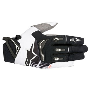 Alpinestars Techstar Gloves (Color: Black/White / Size: 2XL) 1237178