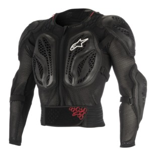 Alpinestars Bionic Action Jacket (Color: Black/Red / Size: XL) 1237579