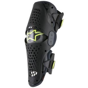 Alpinestars SX-1 Knee Guards (Color: Black/Anthracite / Size: SM-MD) 1237586