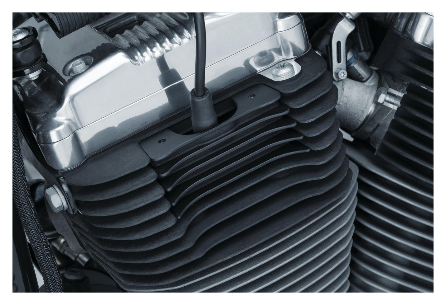 Kuryakyn Finned Spark Plug Covers For Harley Sportster 2004-2020