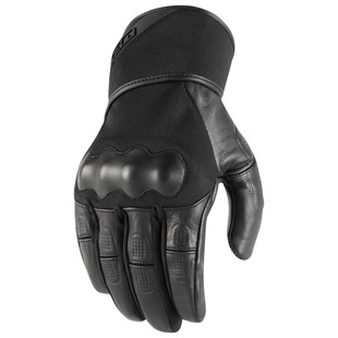 Icon Tarmac Gloves (Color: Black / Size: MD) 1240020