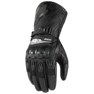 Icon Patrol Gloves (Color: Black / Size: 2XL) 1240029