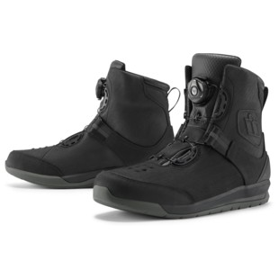Icon Patrol 2 Boots (Color: Black / Size: 14) 1240048