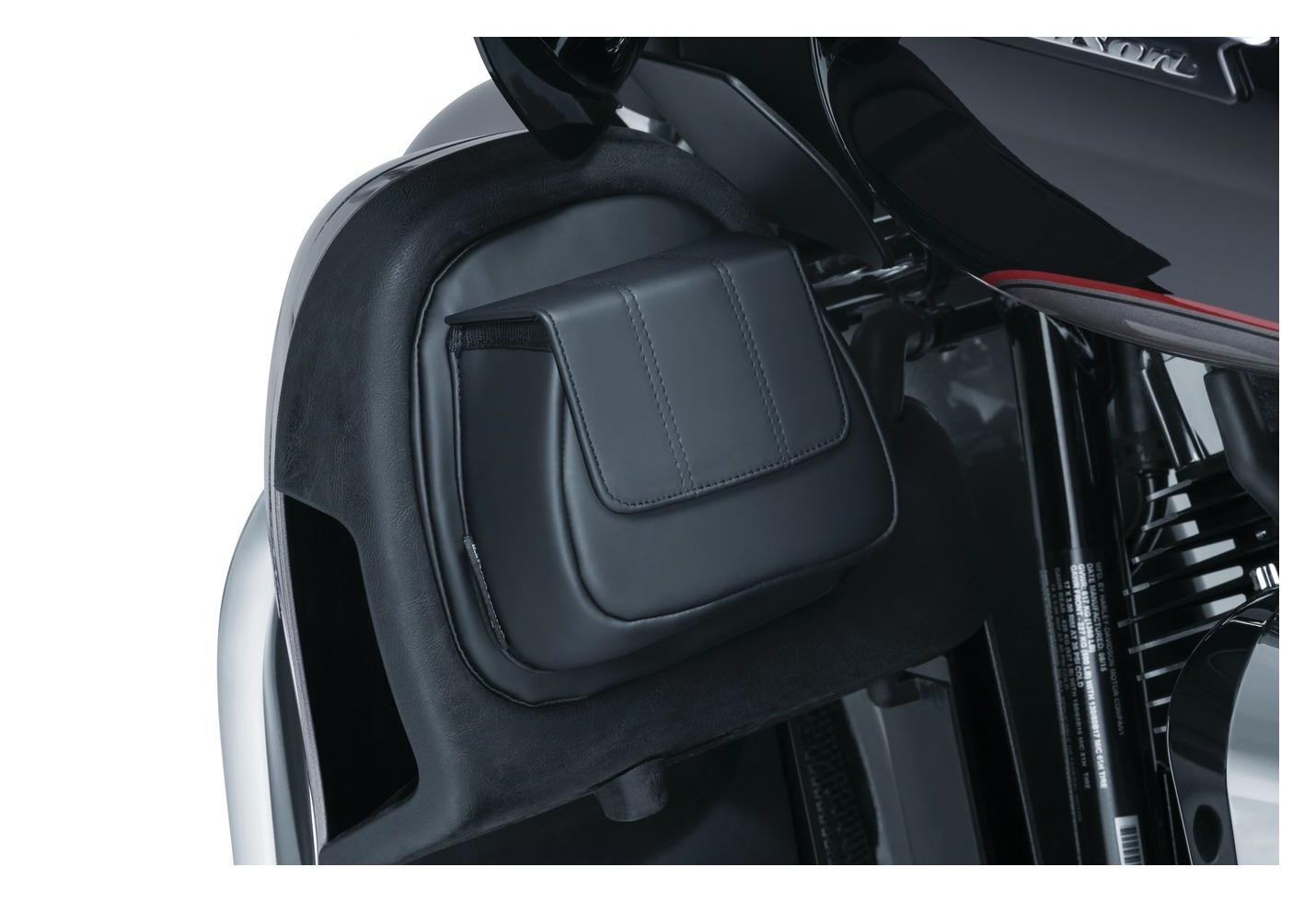 Kuryakyn Lower Fairing Door Pocket For Harley Touring 2014