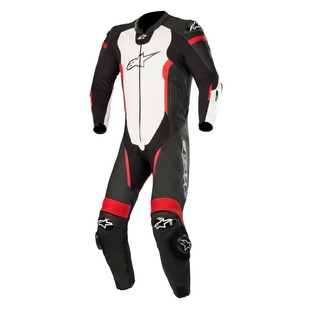 Alpinestars Missile Race Suit For Tech Air Race (Color: Black/White/Fluo Red / Size: 60) 1240851