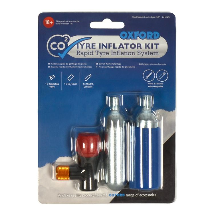 Oxford CO2 Tire Inflator Kit