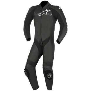 Alpinestars Challenger v2 Race Suit (Color: Black / Size: 56) 1242796