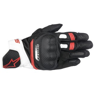 Alpinestars SP-5 Gloves (Color: Black/Fluo Yellow/White/Fluo Red / Size: XL) 1241854