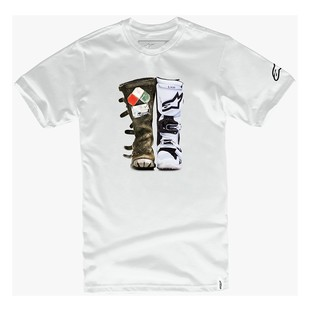 Alpinestars Roots Classic T-Shirt (Color: White / Size: MD) 1243077