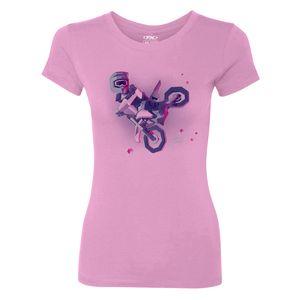 Gray, 4T Factory Effex Honda Lunar Toddler T-Shirts
