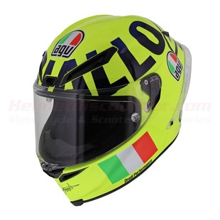 AGV Corsa R Mugello 2016 Helmet (Color: Yellow / Size: MS) 1221975