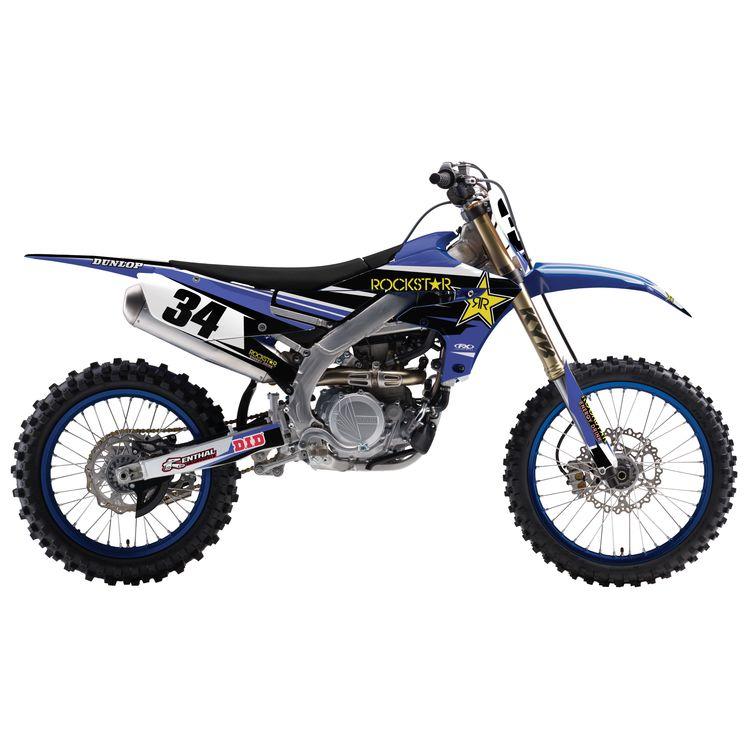 Factory Effex Rockstar Shroud / Airbox Graphics Kit Yamaha YZ85 2002-2014